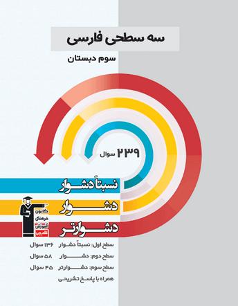 فارسی سوم  ابتدایی سه سطحی قلم چی